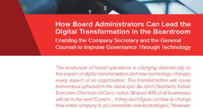 EGM, technology, digital transformation