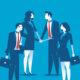 men, women, business team