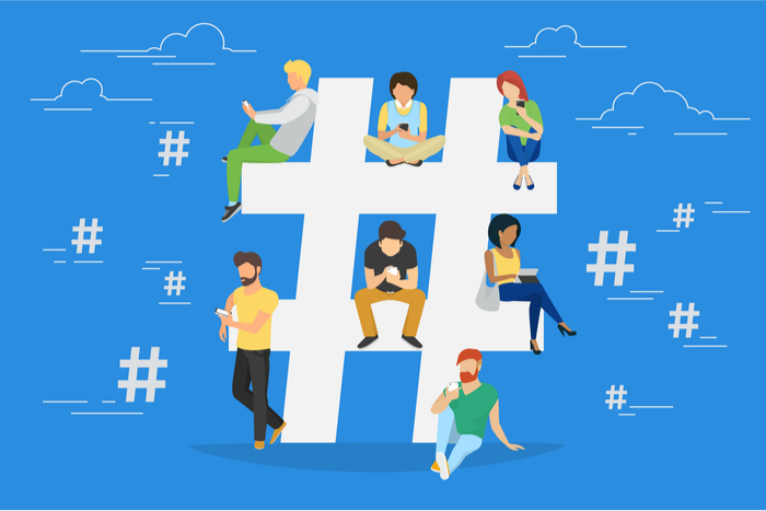 social media, hashtag, reputation