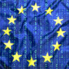 EU flag, data protection rules, GDPR