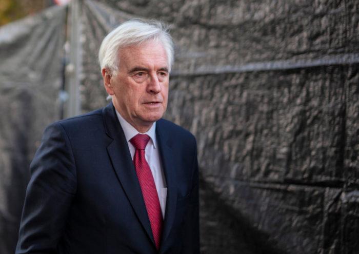 John McDonnell, Labour shadow chancellor