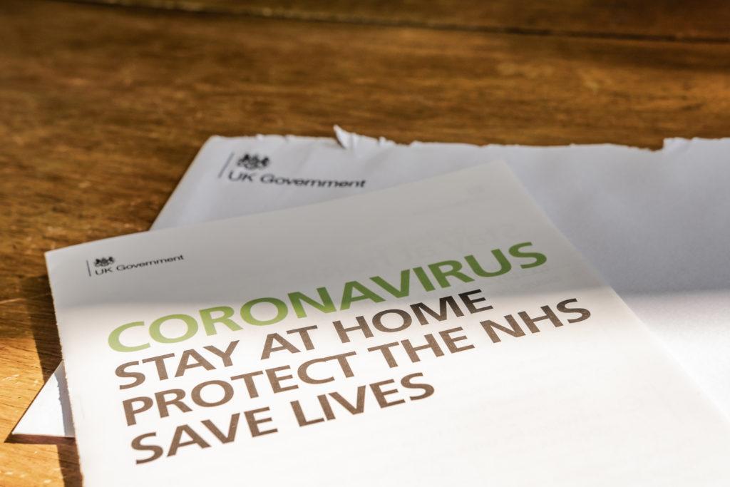 coronavirus Covid-19 leaflet
