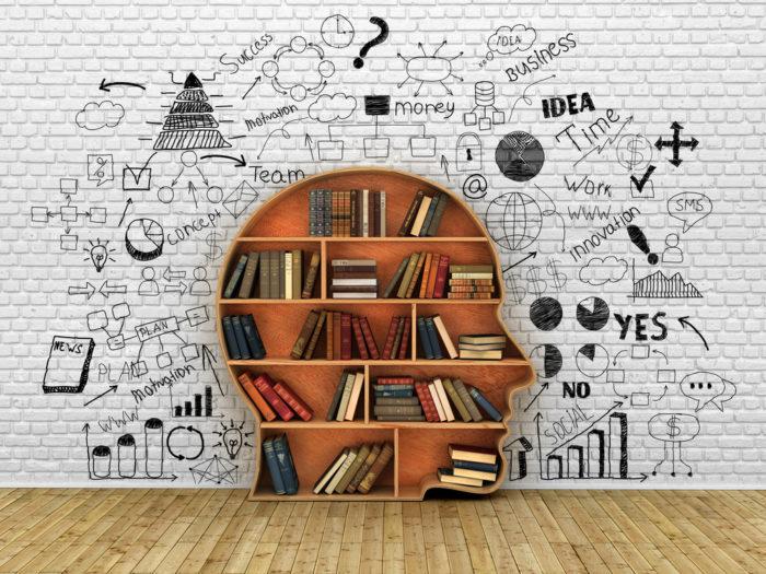 head bookcase