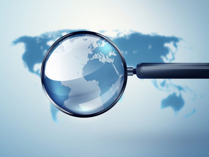 world and magnifying glass, Supreme Audit Institutions