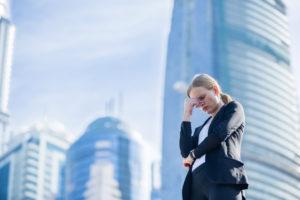 Stressed CEO facing Covid-19 crisis