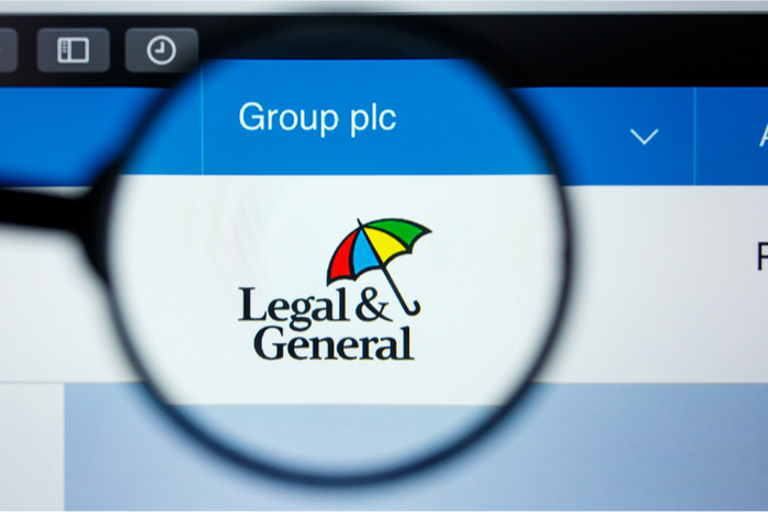 LG group logo on website