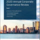 Georgeson 2020 Annual Corporate Governance Review