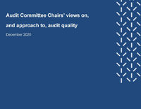 FRC Audit Committee Chairs report