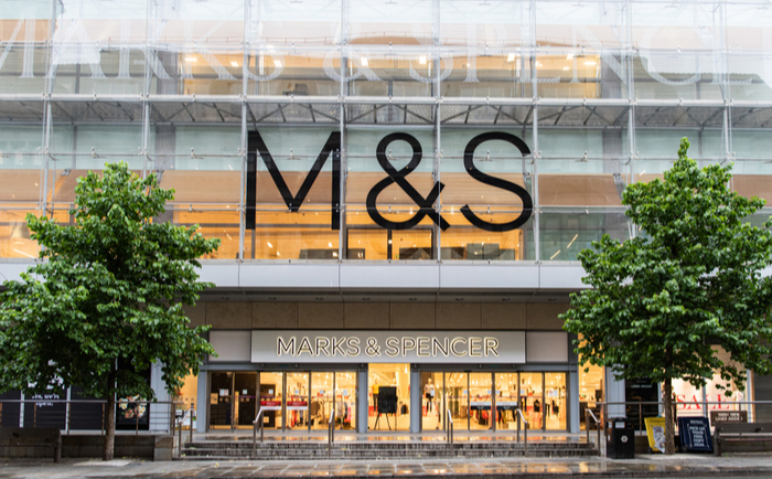 M&S store in Manchester, UK