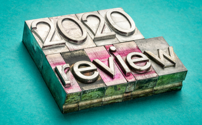 2020 in review stamp
