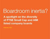 Boardroom inertia? report