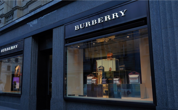 Burberry store in Zurich, Switzerland