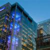 KPMG UK and Barclays buildings, London