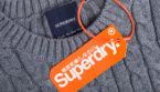 Superdry jumper with label logo