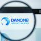 Danone logo on website