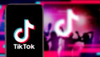 TikTok logo on smartphone