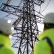 National Grid pylons and engineers at Deeside