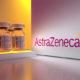 AstraZeneca logo and vaccines