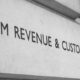 Sign outside HMRC HQ in London