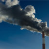 CO2 emissions from factory chimneys