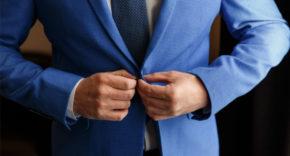 Businessman in tailored suit
