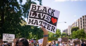 BLM protest in Washington DC